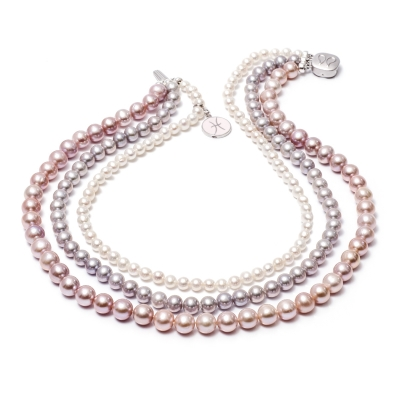 Marittima freshwater pearl necklace. Код 2020