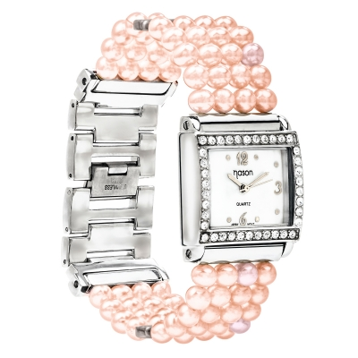 Branded NASON pink pearl watches. Код 2240